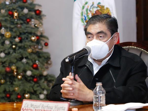 Lista la logística operativa y brigadas de vacunación en Puebla: Miguel Barbosa