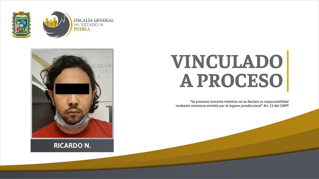 FGE obtuvo segunda vinculación a proceso contra Ricardo N.