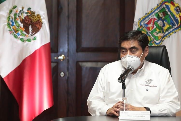 """""""Garantizada la asistencia médica para las y los poblanos durante la Pandemia"""": Barbosa Huerta"""